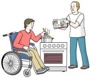 Hilfe beim Kochen