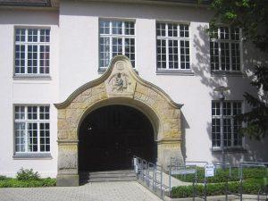 Außenansicht Beratungsstelle am Wall in Detmold